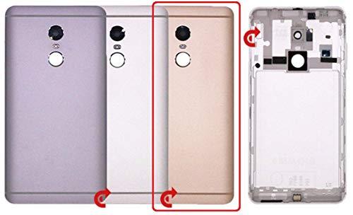 Desconocido Tapa Trasera para Xiaomi Redmi Note 4, Cubierta de la Bateria Chasis Trasero (Oro)