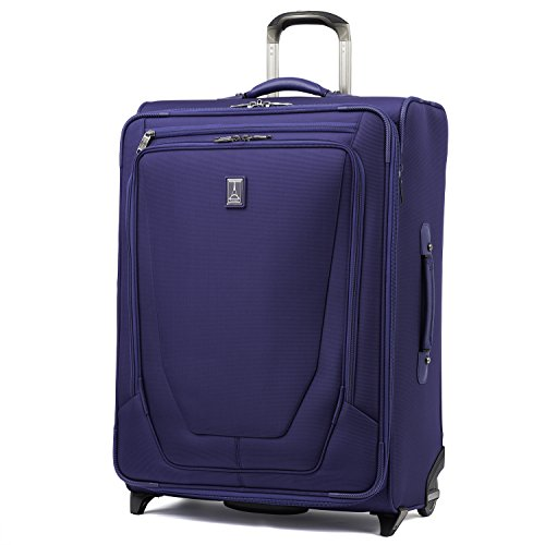 Travelpro Luggage Crew 11 26' Expandable Rollaboard Suitcase w/Suiter, Indigo