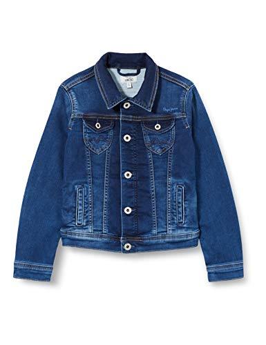 Pepe Jeans New Berry Polo Shirt, Bleu (000), 12 Fille