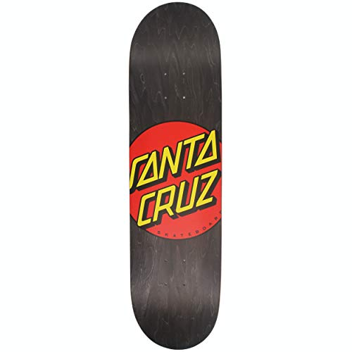 "Santa Cruz Skateboard Deck Classic Dot Black 8.25"" x 31.83"""