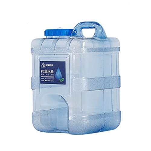 Cubo de Agua Portátil Garrafa, Contenedor de Agua de Grado Alimenticio Portá para Camping Acampada Senderismo Escalada y Actividades al Aire Libre,3 tamaños a elegir / 10L