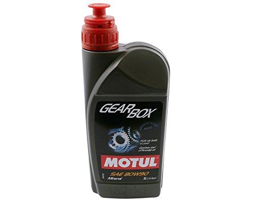 Getriebeöl MOTUL Gearbox 80W-90 1 Liter mit MoS2, Differentialöl API GL4 GL5 1L