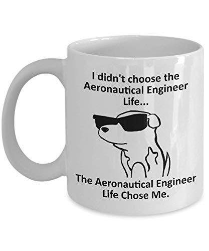 Tazza Magica Tazza da caffè per ingegnere aeronautico Tazza con Frase e Disegno Divertente Migliore Tazza In Ceramica Idee Regali Originali