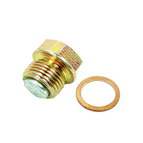 Ölablass-Schraube mit Magnet inkl. Dichtring 18 x 24 Kupfer für MZ ETZ TS ES M18 125 150 250 251 301