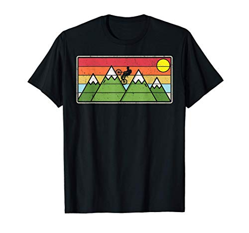 Mountain Biker Birthday Gift Off Road Bike Trail Rider T-Shirt