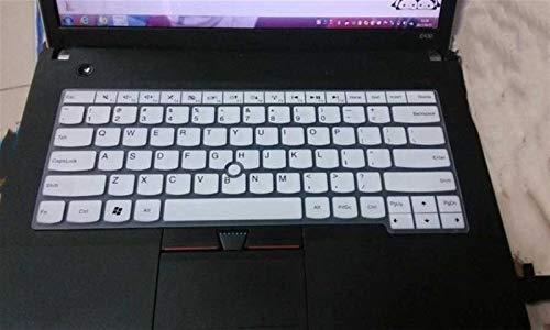 Durable keyboard stickers Laptop Keyboard Cover Protector For Lenovo ThinkPad T480 E485 T475 E475 E470 T480 T470s T470 E431 T440p T430 T470 e480 e445 e450 Keyboard accessories (Color : White)