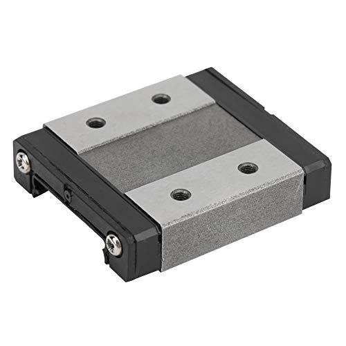 Weikeya Bloc Coulissant linéaire Miniature, vis à Billes Mouvement Energy Déchets de Lubrification de Curseur 45mm Réglage de la Lubrification de roulement pour 24 mm Rail