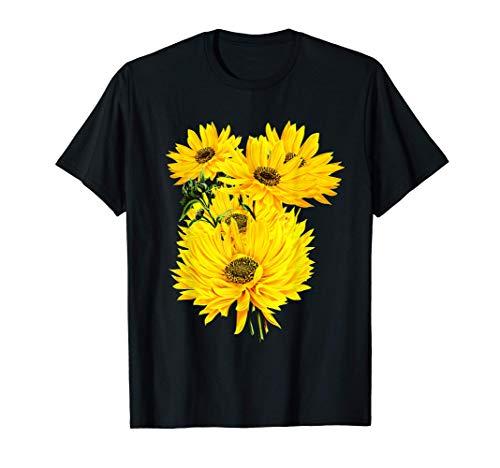 Tema de jardinería de grandes girasoles Camiseta