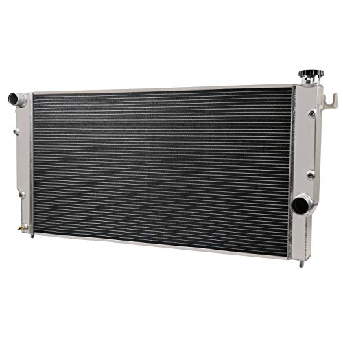 CoolingCare 4 Row Aluminum Radiator for Dodge Ram 2500 3500 5.9L Turbo Diesel Engine 1994-02