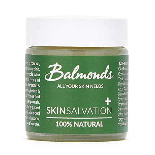 Balmonds Santé de la peau avec du chanvre pour les personnes souffrant de peaux sèches et démangeaisons 30 ml