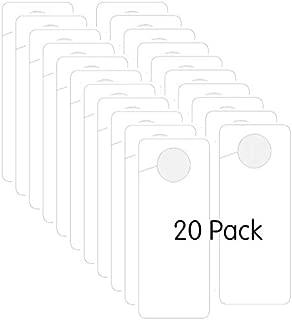 Best blank plastic door hangers Reviews