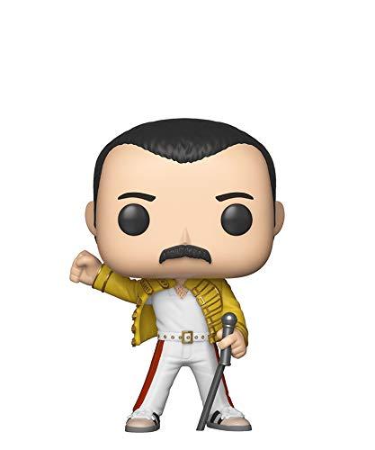 Funko Pop! Rocks - Queen - Freddie Mercury (Wembley 1986) #96 Vinyl Figure 10cm