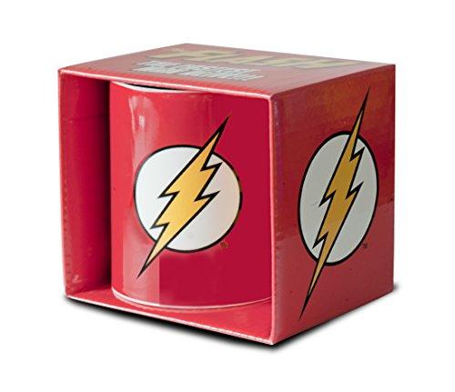Logoshirt DC Comics - Flash Logo Porzellan Tasse - Kaffeebecher - rot - Lizenziertes Originaldesign