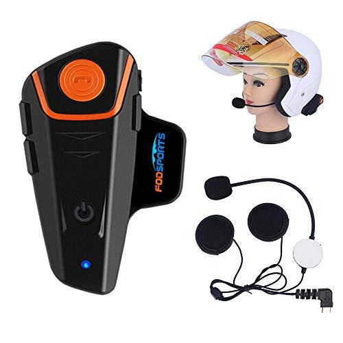 Bester der welt Fodsports BT-S2 Bluetooth Motorrad Intercom Kopfhörer Wasserdichter Helm Wireless Intercom…