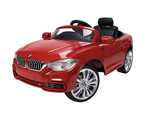 Red BMW 4 Series Convertible Ride On