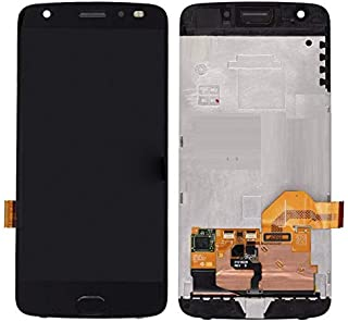 LCD Display Touch Screen Digitizer Assembly with Frame for Motorola Moto Z2 Force XT1789 (Black)