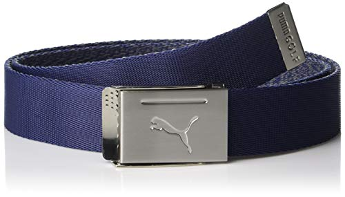 PUMA Herren Golf 2019 Reversible Web Belt (One Size) Golf 2019 Herren Reversible Web Belt (Herren, Surf The Web, One Size) Einheitsgröße peacoat