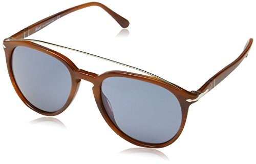 Persol PO3159S Sunglasses Terra E Oceano/Brown Mirror Gold 55