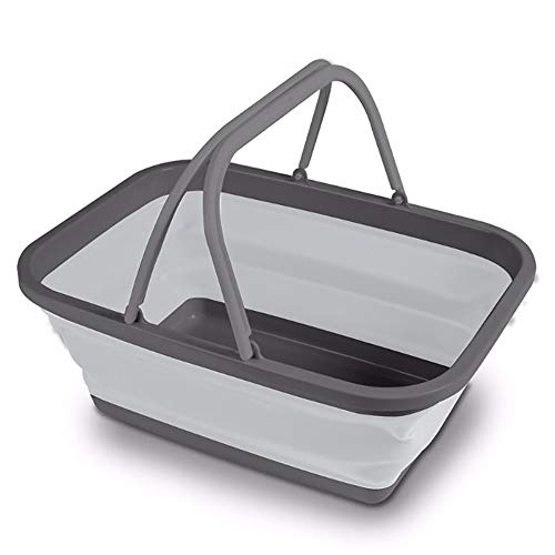 Kampa Folding Washing Bowl Large (460 x 340 x 180) - Blue