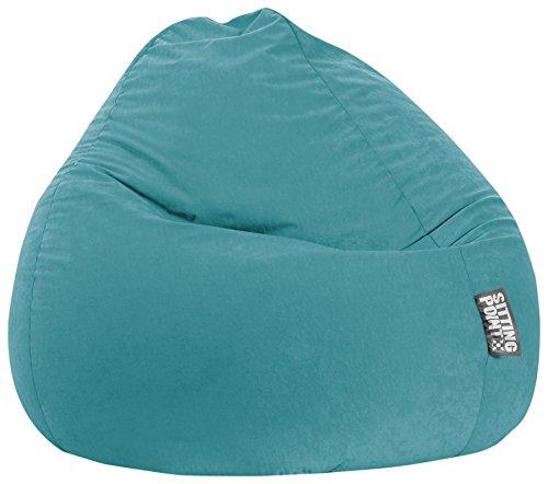 SITTING POINT only by MAGMA Sitzsack Easy XXL ca. 300 Liter smaragd