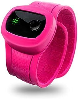 X-Doria KidFit - Pulsera de monitorización de Actividad y sueño con Bluetooth para Dispositivos Android, Color Rosa
