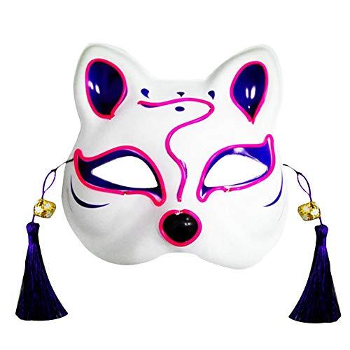 hinffinity, maschera per il viso con luce LED...