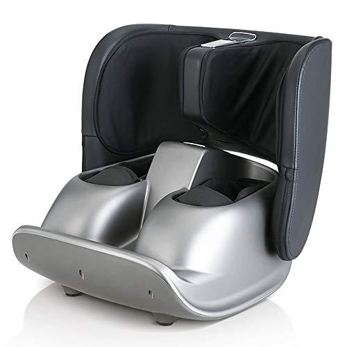 Best Buy! Shiatsu Foot Massager Machine, Calf Leg Hot Compress Electric Massager, Multifunction Roll...
