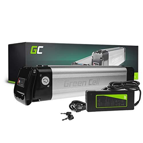 Green Cell GC® Bateria Bicicleta Electrica 36V 8.8Ah Silverfish Li-Ion E-Bike Batería y Cargador
