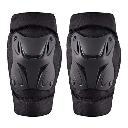 WILDKEN Rodilleras de Protección Cojines Pad Almohadillas de Espuma EVA Protectores de Rodilla con Cierre de Velcro Ajustable Equipo de Protección para Motocicleta Bicicleta Skate Patinaje (Adulto)