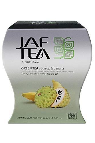 JAF TEA Pure Green - Stachelannone & Banane - Karton