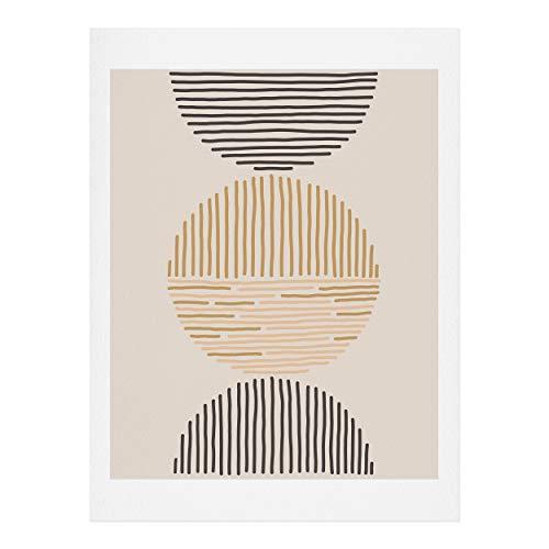 Society6 Kunstdruck, 100 % Baumwollfaser-Papier., mehrfarbig, 18