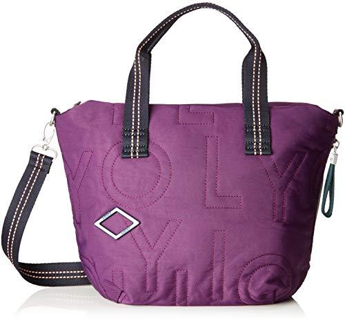 Oilily Damen Spell Handbag Mhz Henkeltasche Violett (Purple)