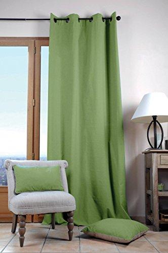 Lovely Casa Duo UNI Rideau 140X280 CM, Coton, Mousse
