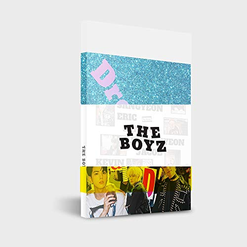 Cre.ker Entertainmnet The Boyz – Dreamlike [Dreamlike + Day + DIY set] (4e Mini-album) 3 cd's + 3 foto's + 3 foto's zinnen + 3 foto's + 3 ansichtkaarten + 3 stickers + dubbelzijdige fotoset