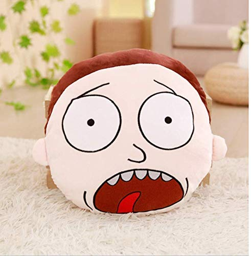Dirgee Cartoon Doll Plush Toy, Rick And Morty Plush Stuffed Toys Comfortable Soft Pillows Bolster Cushion CartoonDoll 35Cm