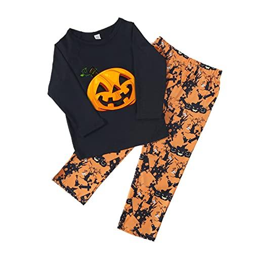 HEYWR Halloween Kindermode Langarm Eltern-Kind-Kleidung Set Familie Pyjamas