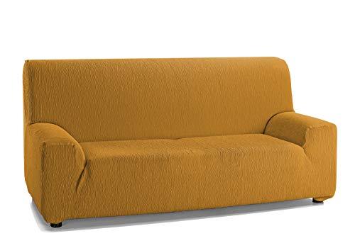 Martina Home Emilia Funda DE Sofa Elastica, Mostaza, 3 Plazas
