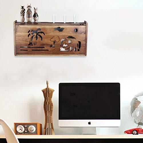 LXYFMS - Mueble de Pared para TV, Consola de TV, enrutador, DVD, Caja de Almacenamiento para teléfono