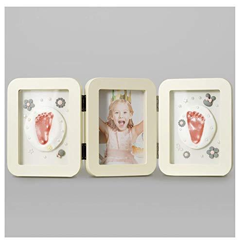 Sera in een hoed Baby hand en voet inkt pad, fotolijst souvenir, kind baby pasgeboren volle maan honderd dagen geschenk