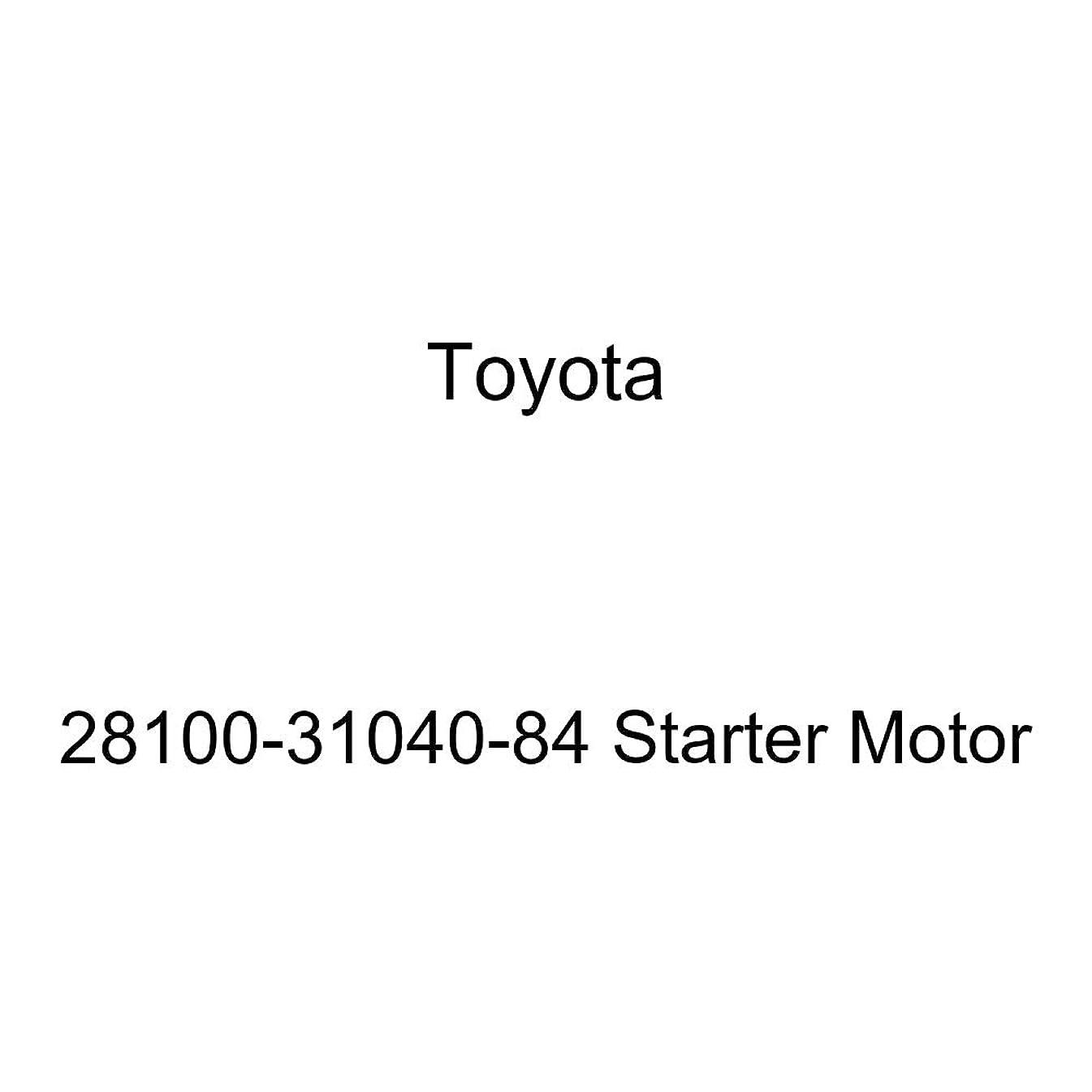 Toyota 28100-31040-84 Starter Motor