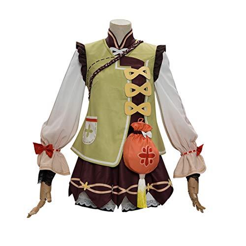tengod Genshin Impact Cosplay Disfraz Yaoyao Halloween Cospl