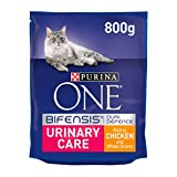 Purina ONE Urinary Care Dry Cat Food Chicken 800g (Case of 4)