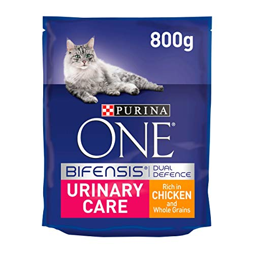 Purina One Urinary Care Dry Cat Food Chicken 800g–Case of 4(3.2kg)