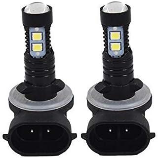 WFLNHB 2pcs High Power 50W Extremely Bright 881 889 6000K Super White LED Fog Lights Bulbs