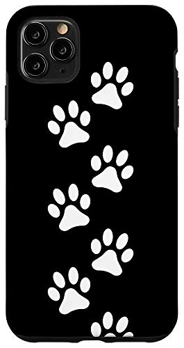 Dog Paws Iphone 11 Pro Max Dog Paw White Paws Black Background Case From Amazon Daily Mail