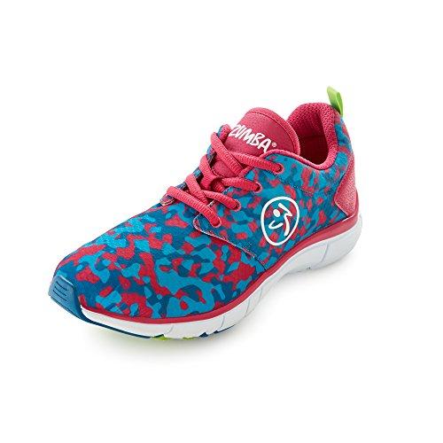 Zumba Footwear Zumba Fly Print, Scarpe fitness donna,...