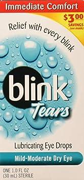 blink Tears Lubricating Eye Drops Mild-Moderate Dry Eye 30 mL  Pack of 2