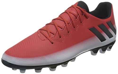 adidas Messi 16.3 AG, Scarpe da Calcio Uomo, Rosso (Red/Core Black/Ftwr White), 41 EU
