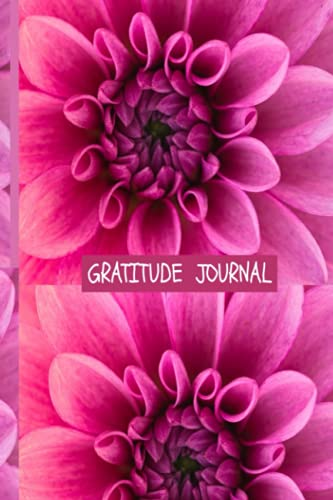 GRATITUDE JOURNAL NOTEBOOK: Glossy Cover 150 White Lined Pages