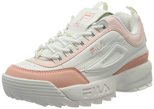 Fila Damen Disruptor CB Low Wmn 1010604-02W Sneaker, Weiß, 40 EU